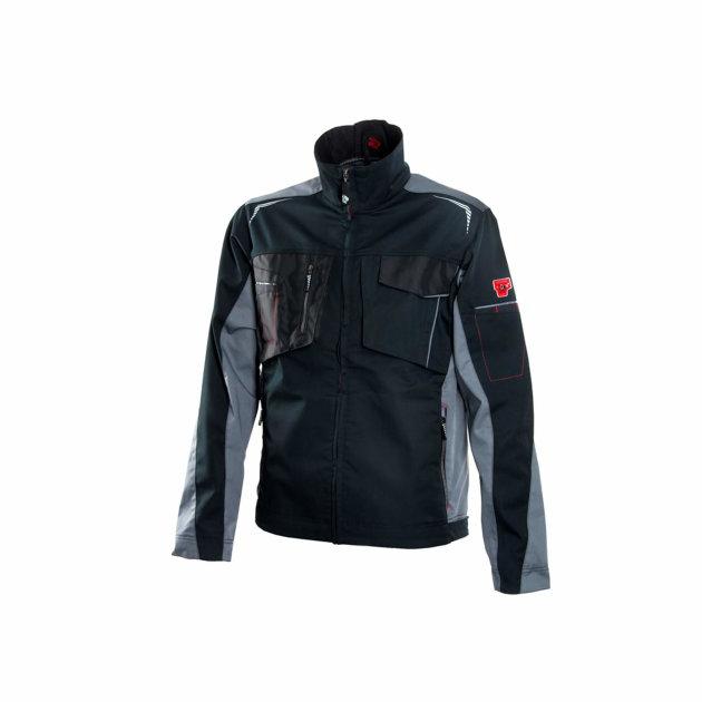 Radna jakna R8ED+, sa Cordura pojačanjima na džepovima, crna boja