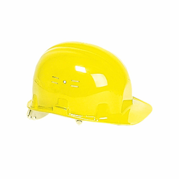 Safety Helmet for Construction Workers, Yellow Color