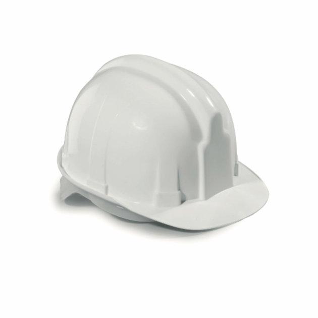Zaštitna kaciga za građevinare, bijela boja