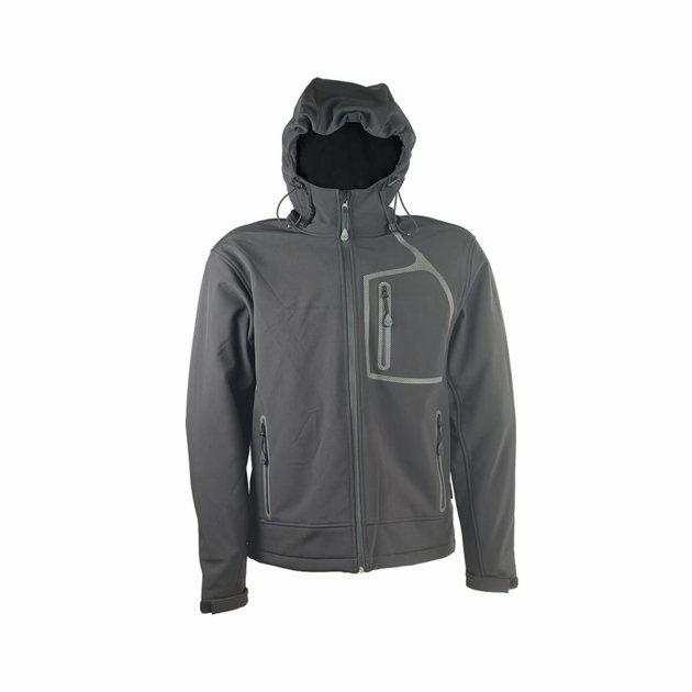 Softshell jakna William, crna, otporna na vodu i vjetar