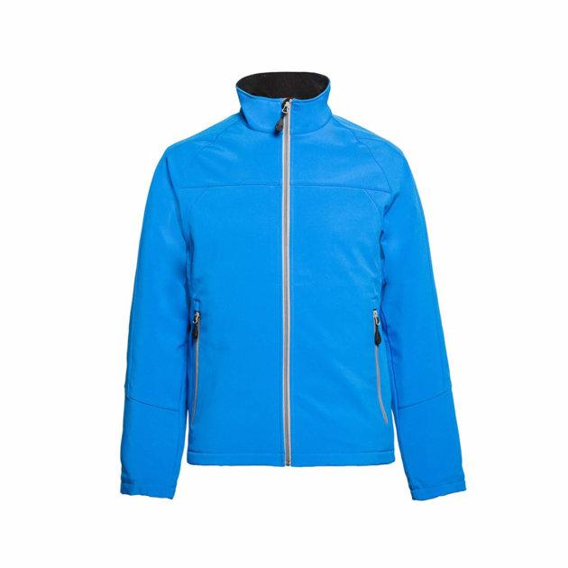 Softshell jakna Spektar, royal, od prozračne softshell tkanine otporne na vodu i vjetar