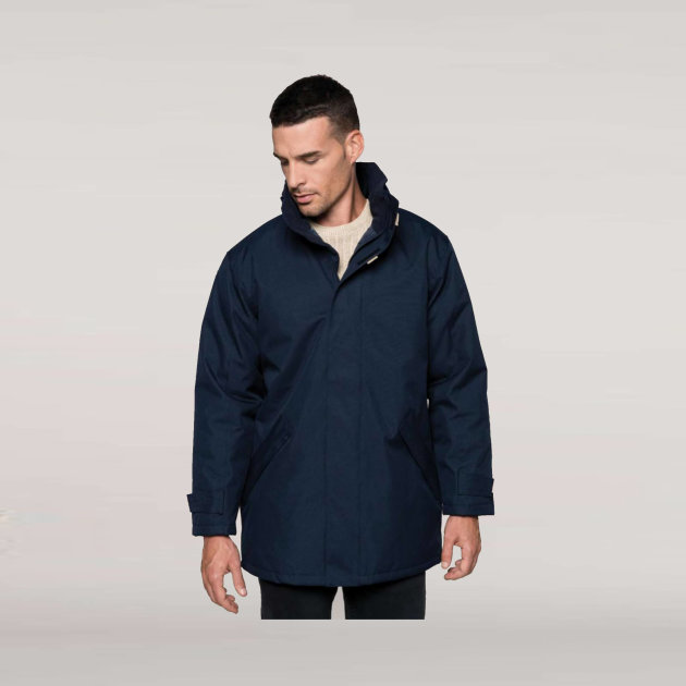 Padded Jacket Kariban, quilted polyester padding and lining, Provides excellent protection in all weathers and conditions.