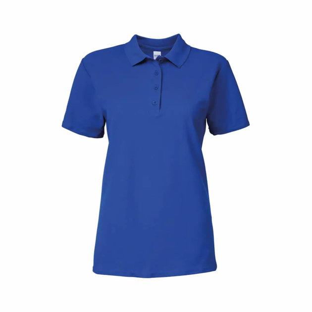 Gildan Softstyle Pique Women's Polo Shirt, 100% Cotton