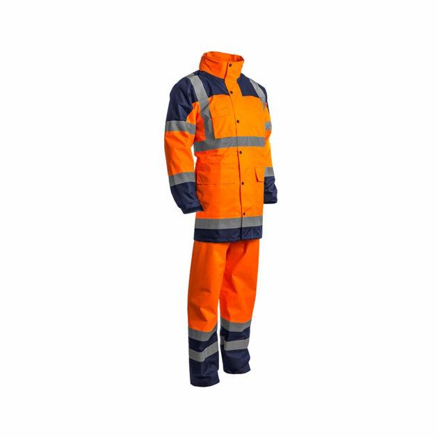 Kišno odijelo Hydra, visoka vidljivost, narančasto - plavo