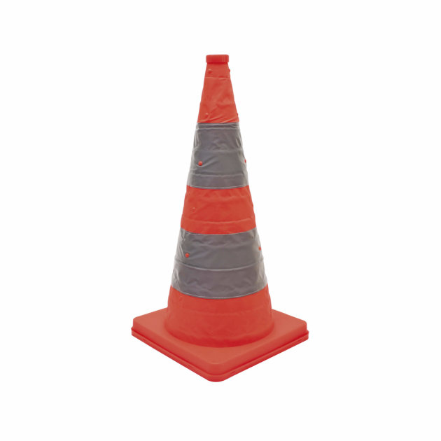 Foldable Signal Cone, 400 mm in diameter, to indicate the site of intervention