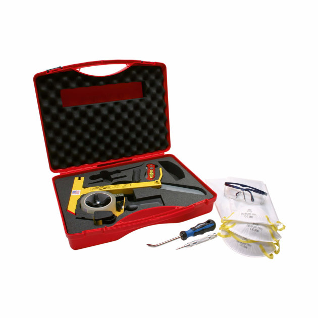 extrication tool for vehicle glass removal