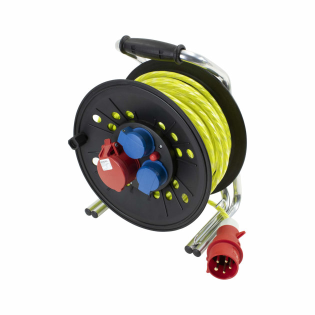 Reflective Power Cable with Wind-Up Reel RFX 230 V/400 V, 16 A, 30 m