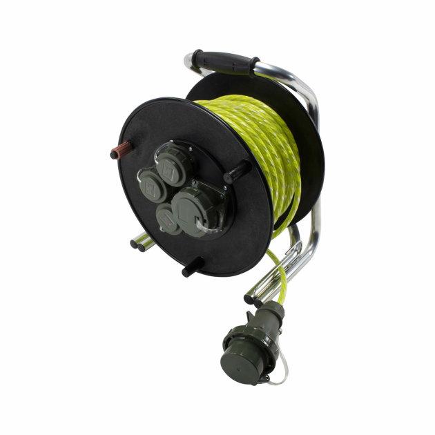 Reflektirajući strujni kabel sa motalicom RFX 230 V/400 V, 50 m