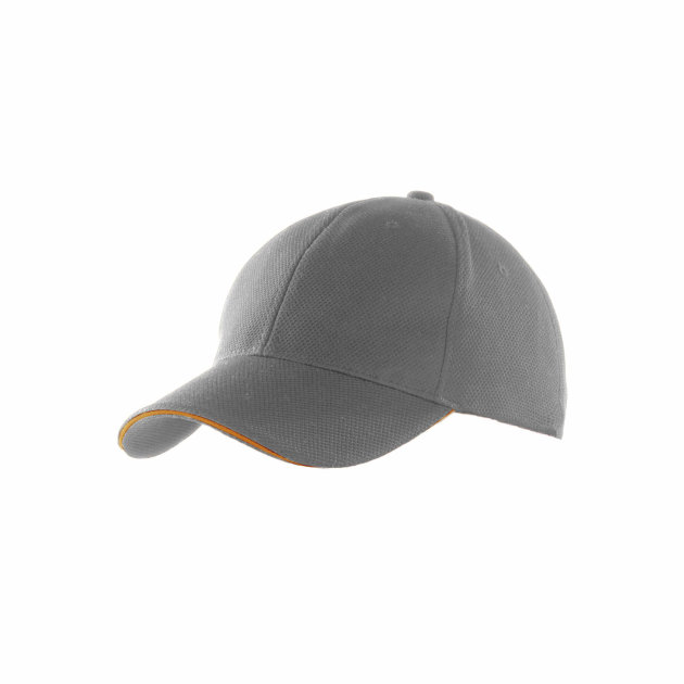 K-Up Six Panel Sport Cap, with size adjuster with metal buckle and loop