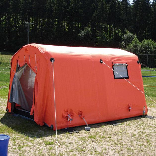 Šator na napuhavanje EZ-10, za Crveni križ, policiju, vatrogasce i civilnu zaštitu