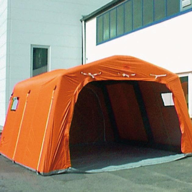 Šator na napuhavanje EZ-18, za Crveni križ, policiju, vatrogasce i civilnu zaštitu