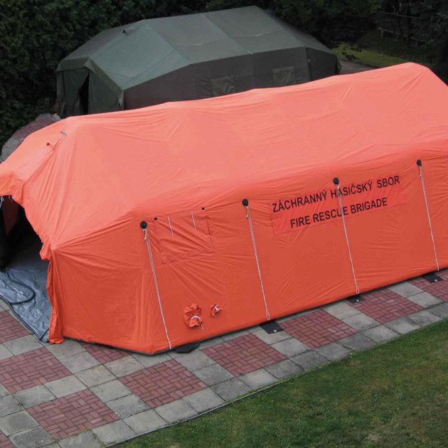 Šator na napuhavanje ES-56 TL, za Crveni križ, policiju, vatrogasce i civilnu zaštitu