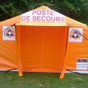 Šator na napuhavanje RCY 75, za Crveni križ, policiju, vatrogasce i civilnu zaštitu
