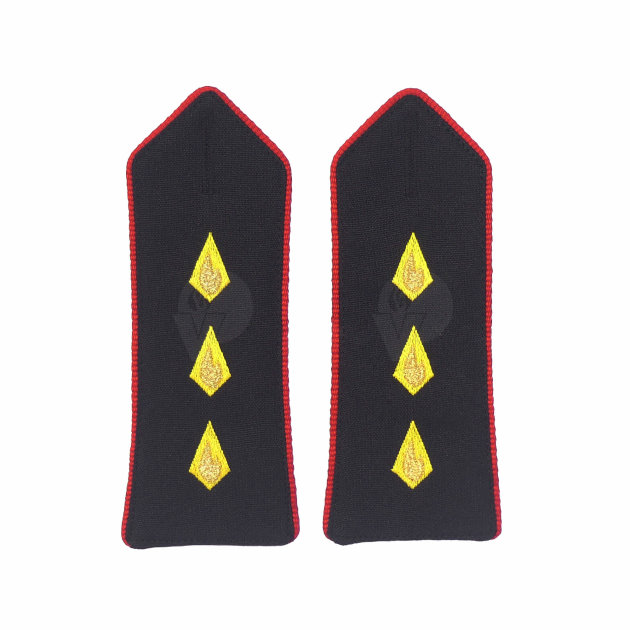 Firefighter Rank Marks, non-commissioned Fire Officer
