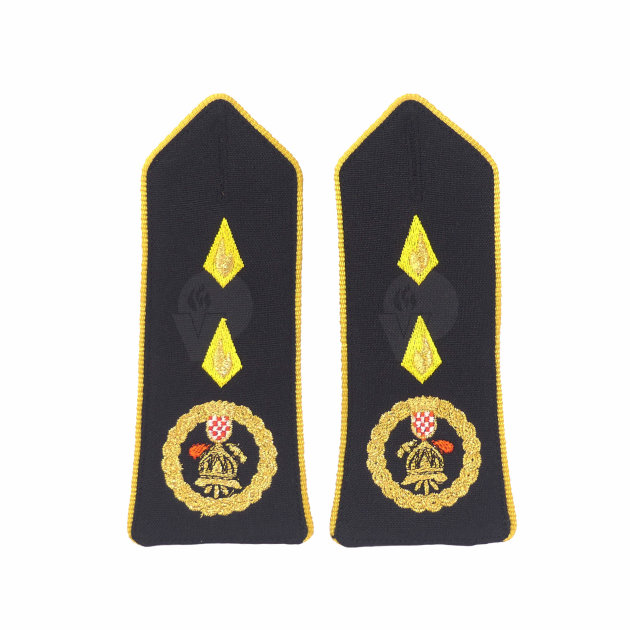 Firefighter Rank Marks, First Class Senior Fire Officer