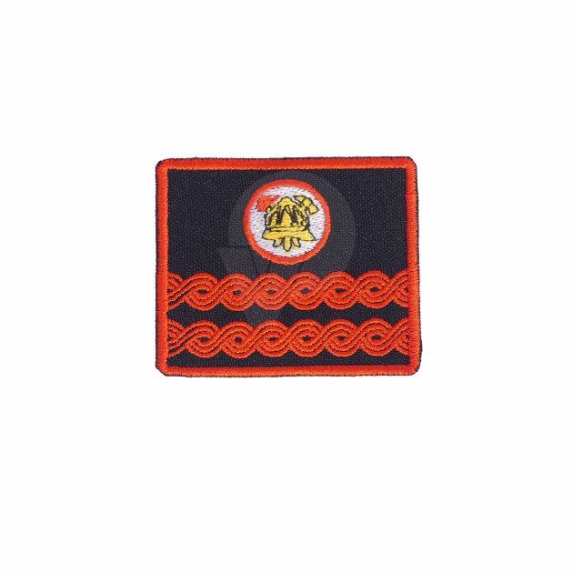 Vatrogasne oznake dužnosti za radno odijelo, Tajnik