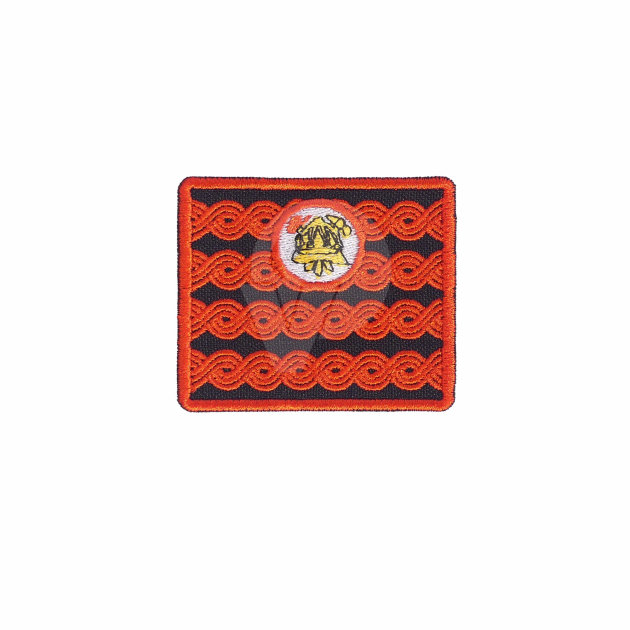 Firefighter Emblem for Work Suit, President