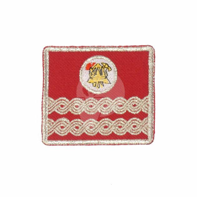 Firefighter Emblem for Work Suit, County Deputy Commander