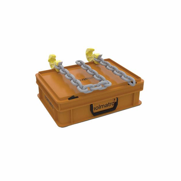 Komplet lanaca za vuču u kovčegu PCS 02, za Holmatro razuporu