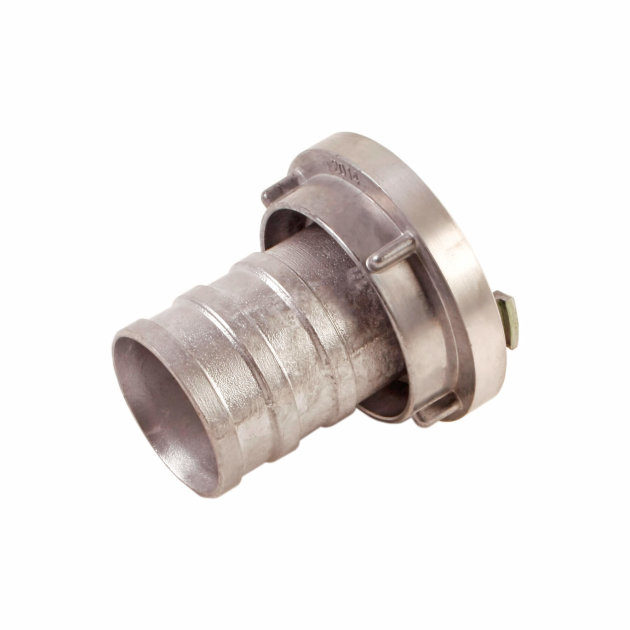 Suction Coupling 75 mm aluminium, for suction fire hose 75 mm