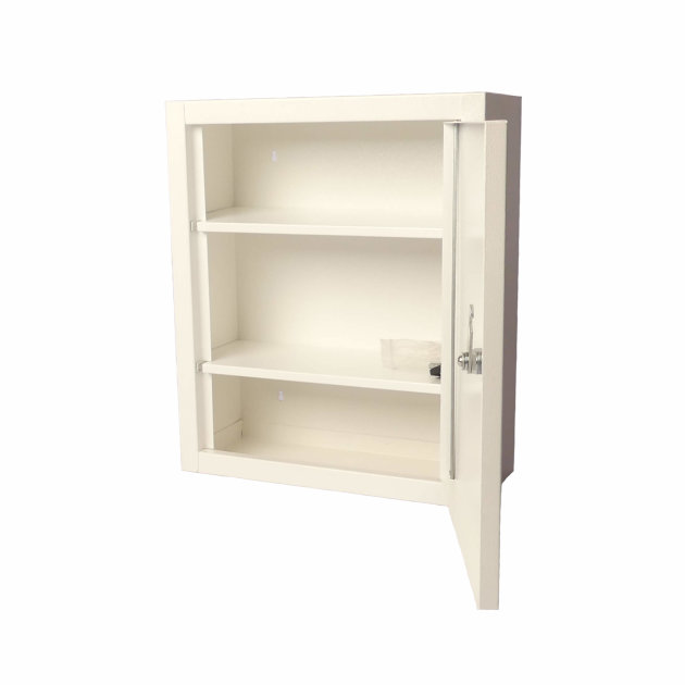 First Aid Cabinet, with lock and shelves for First Aid Kit