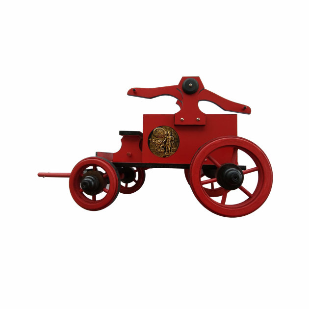Suvenir velika vatrogasna drvena kola, poklon za vatrogasne skupštine i obljetnice