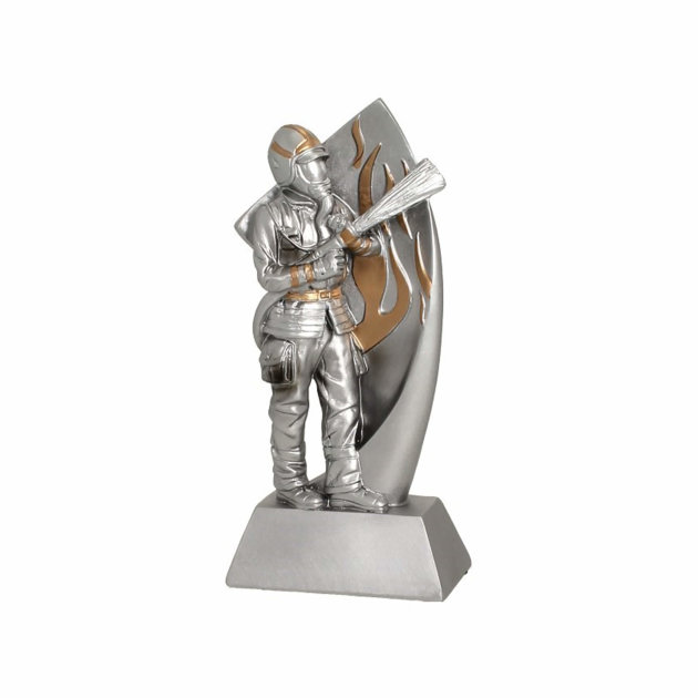 Vatrogasni suvenir Vatrogasac RP-2010, srebrni
