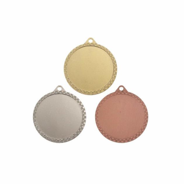 Komplet medalja za vatrogasna i sportska natjecanja, zlato, srebro i bronca - 60 mm