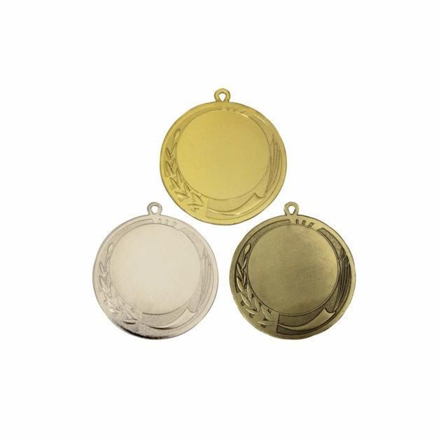Komplet odličja za vatrogasna i sportska natjecanja, zlato, srebro i bronca - 70 mm