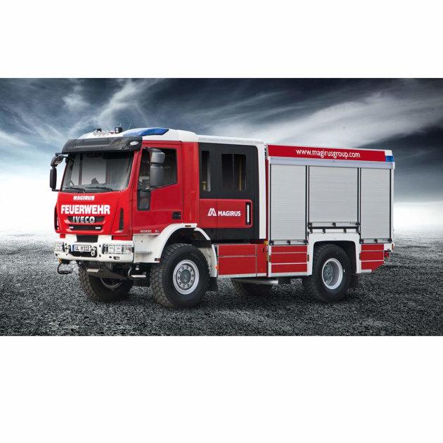 Navalno vatrogasno vozilo Magirus LF-HLF 10 All-wheel