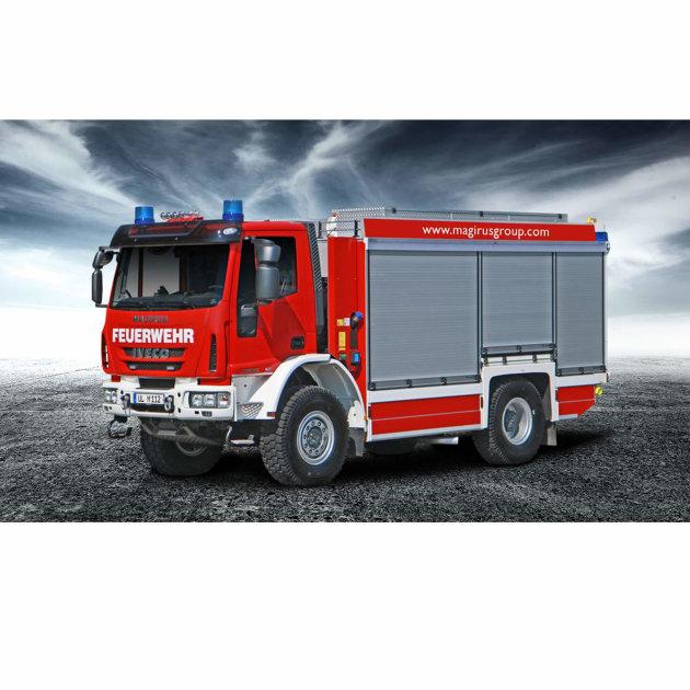 Vatrogasno vozilo za gašenje požara Magirus TLF 4000, srednje teško, sa spremnikom vode i pumpom