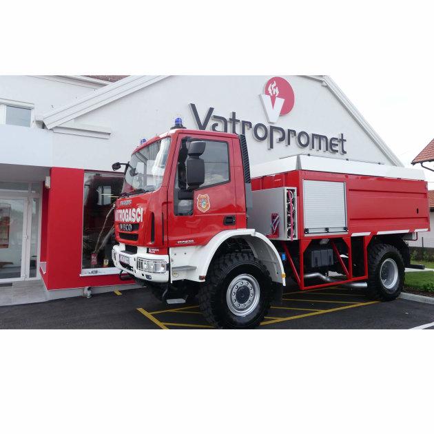 Vatrogasno vozilo Magirus CCF 6000 za šumske požare, isporučeno za DVD Rogoznica 2019. godine.
