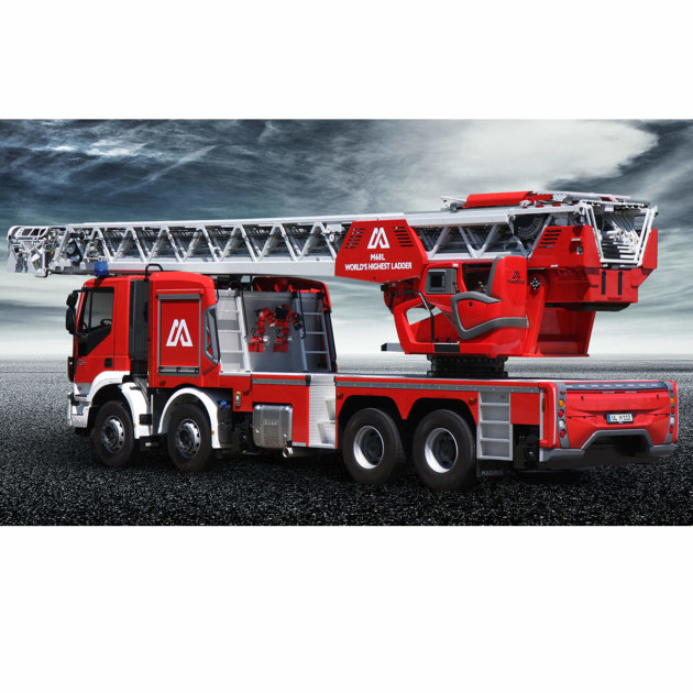 Magirus M68L turntable ladder, with 68 meters working height