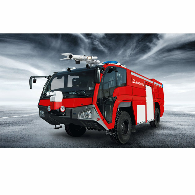 Airport Fire Engine Magirus Dragon X4, Airport Firefighting Vehicle