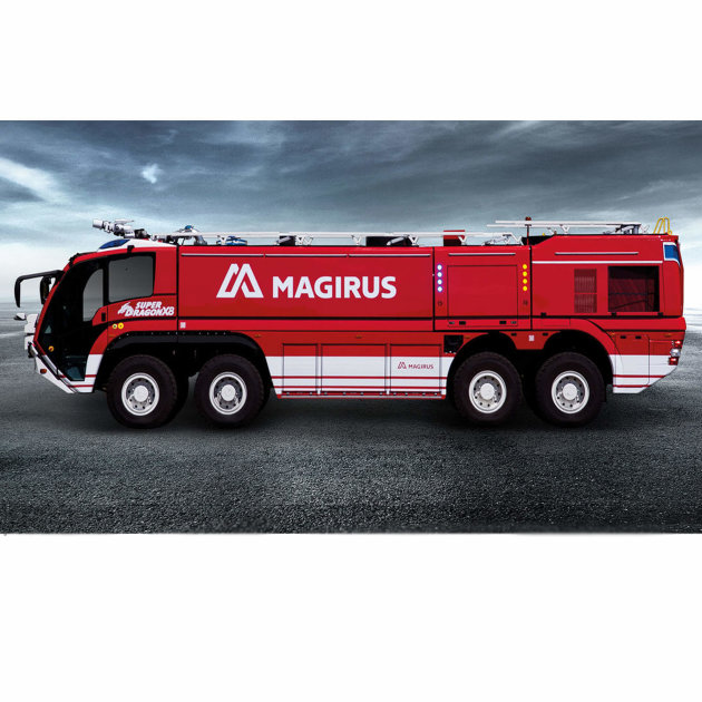 Airport Fire Engine Magirus SuperDragon X8, Airport Firefighting Vehicle