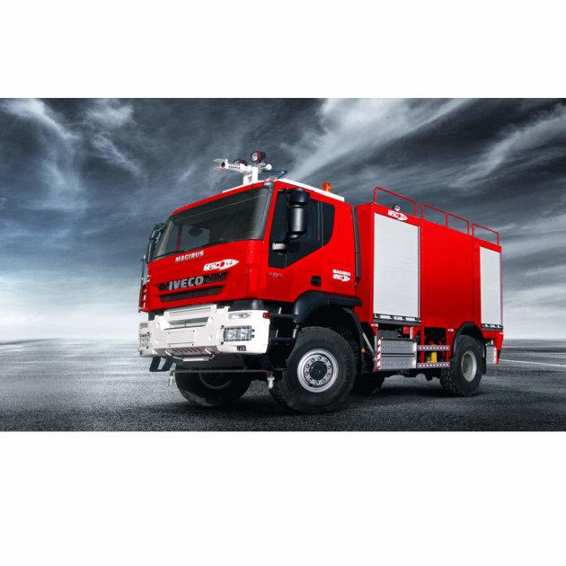 Aerodromsko vatrogasno vozilo Magirus Impact X4, za intervencije gašenja požara u zračnim lukama