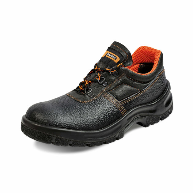 Low Protective Shoes with Steel Toe Cap and Antislip Sole.