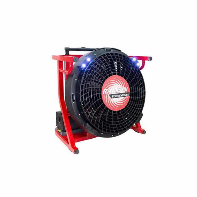 Ventilator za odimljavanje zadimljenih prostora Ramfan EX150Li, baterijski.