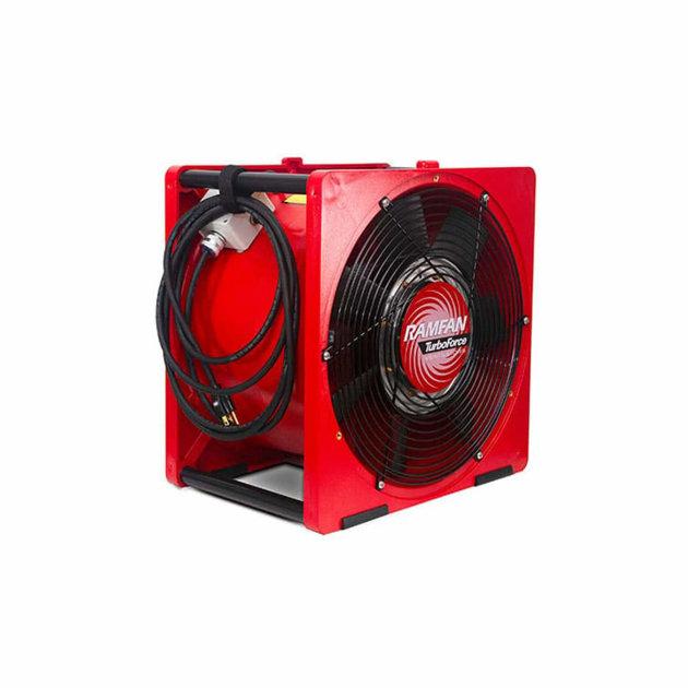 Električni ventilator/dimovuk za izvlačenje dima iz zadimljenih prostora.