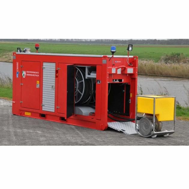 High capacity pump and water flow Hytrans HydroSub® 150