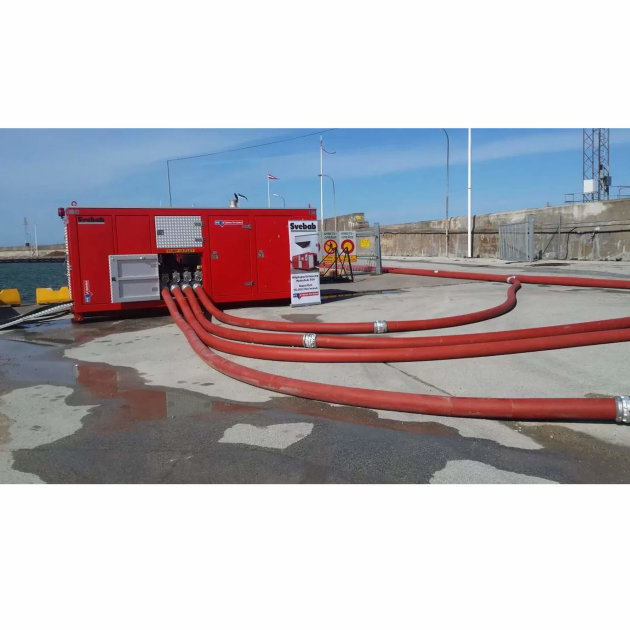 High capacity pump and water flow Hytrans HydroSub® 550