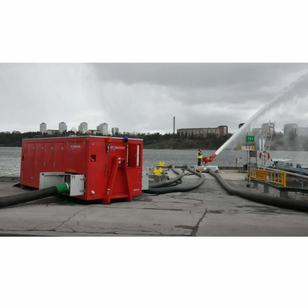 Crpka visokog kapaciteta i protoka vode Hytrans HydroSub® 1200
