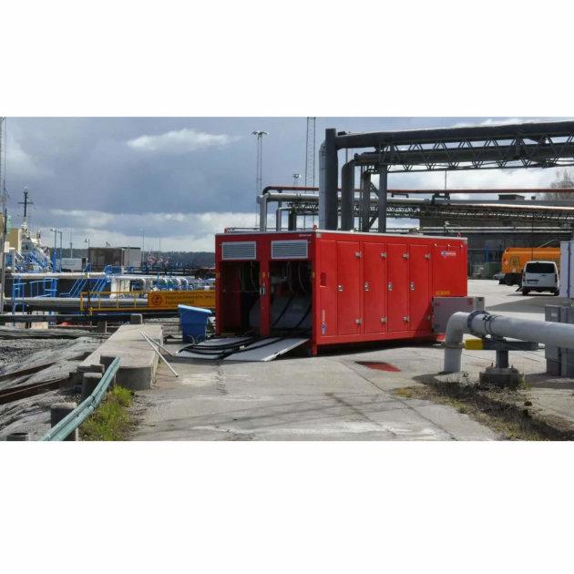 High capacity pump and water flow Hytrans HydroSub® 1200