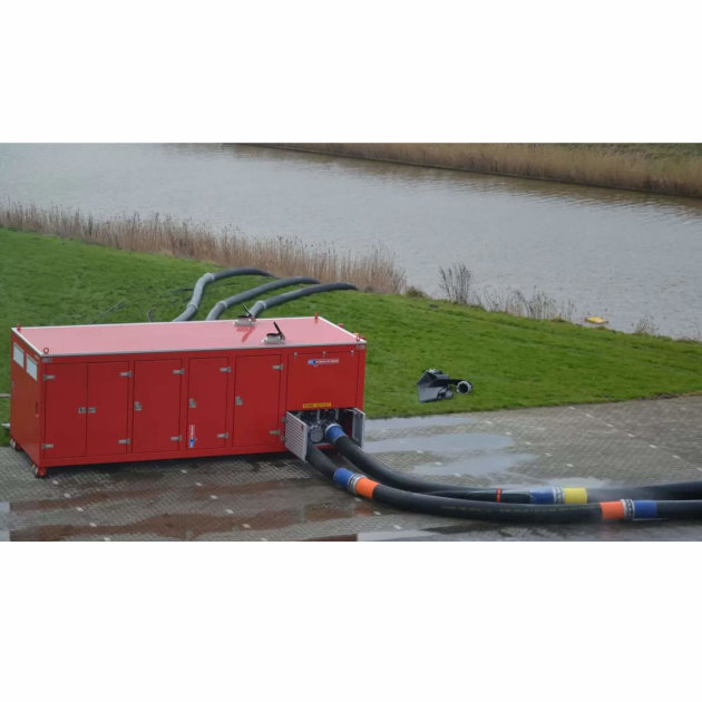 High capacity pump and water flow Hytrans HydroSub® 1400
