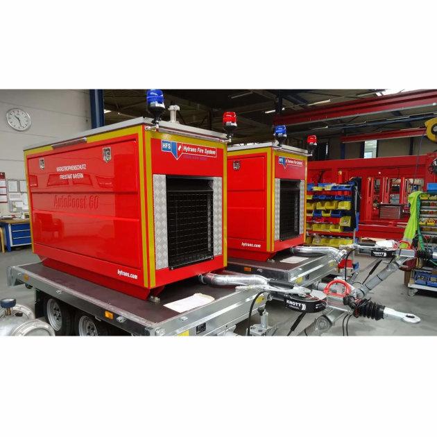 Hytrans® AutoBoost pumpa razvijena je za povećanje moguće dužine Hytrans® vodovodne linije bez dodavanja dodatnih HydroSub® jedinica.