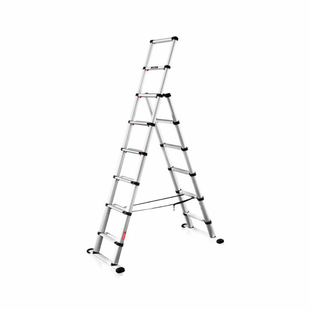 Telescopic Ladder for Firefighters and Rescue teams Just Leitern Telesteps