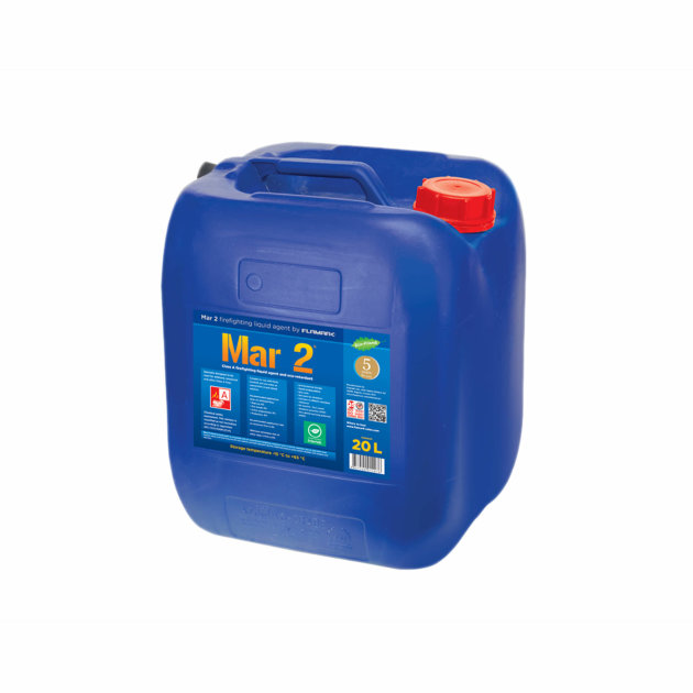 Mar 2 is water additive fire-fighting agent and eco-retardant, specially designed for structural, forest, wild land and other class A fires.