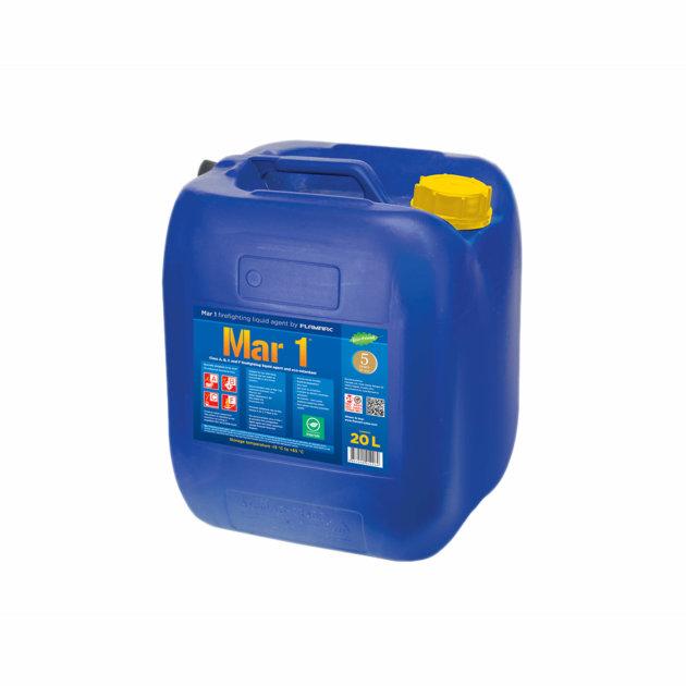 Mar 1 je koncentrirano vatrogasno sredstvo za rastvaranje u vodi i eko-retardant, posebno razvijen za klase požara A, B, C i F.