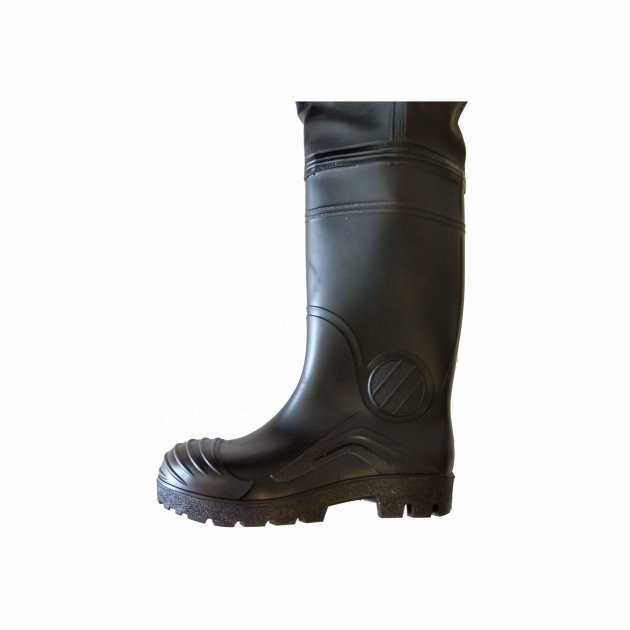 Vodootporne visoke čizme sa naramenicama, za ribolov i vatrogasne intervencije u poplavljenim područjima.