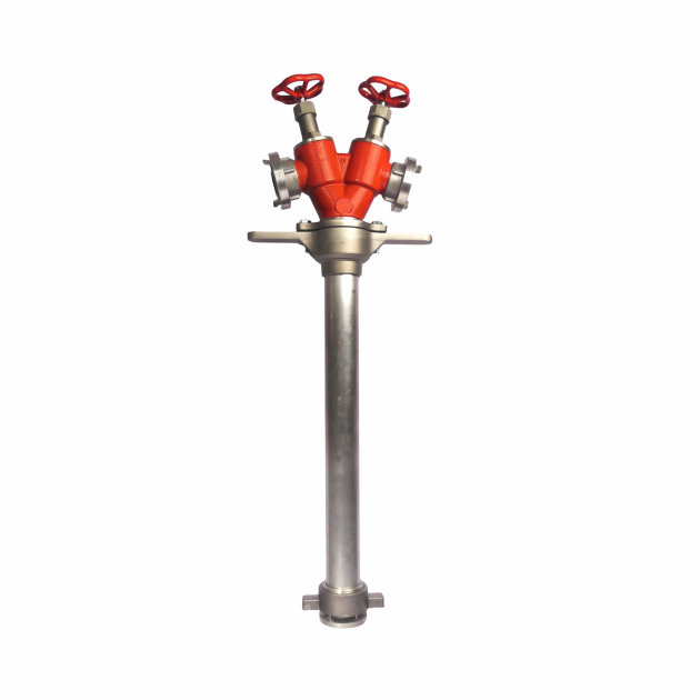 Hydrant Standpipe 2x52 mm is used for connection to the underground hydrant and water supply from the underground hydrant.